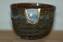 Bowl / Decoration ---Kintsugi