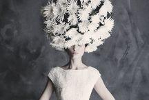 Flora headpiece / Fiori in testa