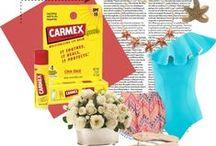 Fashion Carmex / Ideas de outfits para llevar las mejores tendencias con los labios hidratados.