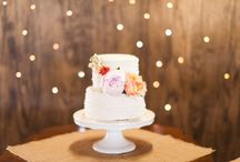 wedding cake florals