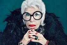 Iris Apfel / Iris Apfel (born August 29, 1921) is an American businesswoman, interior designer, and fashion icon. - Follow me if you like it! :)