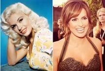 Jayne Mansfield & Mariska Hargitay / One of the leading sex symbols of the 1950s and 1960s, film actress Jayne Mansfield was born Vera Jayne Palmer on April 19, 1933 in Bryn Mawr, Pennsylvania. - Mariska (Ma-rish-ka) Magdolna Hargitay was born on January 23, 1964, in Santa Monica, California. Her parents are Mickey Hargitay and Jayne Mansfield. In June 1967, Mariska and her brothers Zoltan and Mickey Jr. were in the back seat of a car when it was involved in the fatal accident which killed her mother. - Follow me if you like it! :)
