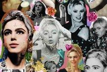 """Edie Sedgwick / Edith Minturn """"Edie"""" Sedgwick (April 20, 1943 – November 16, 1971) was an American heiress, socialite, actress, and fashion model. She is best known for being one of Andy Warhol's superstars. - Follow me if you like it! :)"""