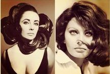 Elizabeth Taylor ♕ Sophia Loren ♔ / Dame Elizabeth Rosemond Taylor, (February 27, 1932 – March 23, 2011) was a British-American actress. She won the Academy Award for Best Actress for BUtterfield (1960), played the title role in Cleopatra (1963), and married her co-star Richard Burton. - Sophia Loren (born Sofia Villani Scicolone - 20 September 1934) is an Italian film actress. She has won a Grammy Award, five special Golden Globes, a BAFTA Award, etc...  - Follow me if you like it! :)