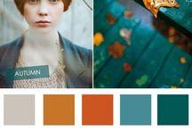 Wedding in Autumn / Palette