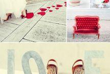 Matrimonio in rosso / Palette