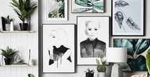 d e c o r | wall art / paintings, graphics, photographs