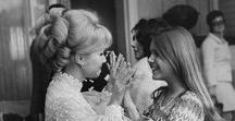 """Debbie Reynolds & Carrie Fisher (Leia, and more)... / Mary Frances """"Debbie"""" Reynolds (April 1, 1932 – December 28, 2016) was an American actress, singer, businesswoman, film historian, and humanitarian. - Carrie Frances Fisher (October 21, 1956 – December 27, 2016) was an American actress, writer, producer, and humorist. She was the daughter of singer Eddie Fisher and actress Debbie Reynolds. Fisher was known for playing Princess Leia Organa of Alderaan, in the Star Wars film series. - Follow me if you like it! :)"""