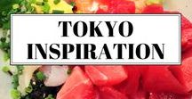 Tokyo / Travel inspiration for Tokyo - Japan's incredible capital city that's full of exciting things to do for visitors and packed full of amazing food to try.