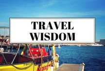 Travel Wisdom / An inspiration board full of travel tips and musings to help you plan your next trip.