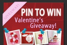 Valentine's Pin to Win!  / Go to our Facebook Page to enter to win one of these great Valentine's Products pinned on this board! 