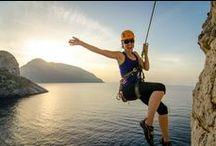Women Rock Climbing / How hard do women crush on the rock? We'll show you. Rock on, chica.
