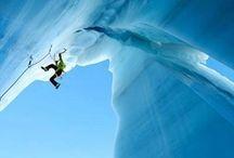 Women Ice Climbing / How hard do women crush on the ice? We'll show you. Climb on, sista.
