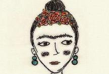 frida kahlo / by frida margareta