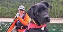 Dogs: Outdoor Women's Best Friend / We love our four-legged furry friends. They readily join us on many outdoor adventures. Here are the photos of the dogs and the people they love.