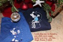 "MAGIC WEAR Holiday 2013 / Magic Wear Apparel 2013  A few of our ""Magic Bunny"" items.  www.magicwearapparel.com"