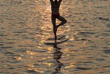 Paddle boarding  / New experiences w the paddle board