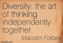 Diversity / The beauty of the world lies in the diversity of its people / by UofUCounseling
