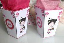 kits imprimables anniversaire -candy bar -sweet table / kits et box pour anniversaire pour décorer vos tables gourmandes / by Catherine Fourestier