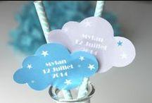 Kits imprimables pour bâpteme - candy bar / Tous les kits et les box pour la déco de vos évènements familiaux- candy bar - sweet table - pour jeunes enfants / by Catherine Fourestier