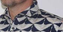 Overhemden met print / Overhemden met print in de maten S t/m XXL Prijs € 79.95 in een genummerde oplagen van 99 stuks