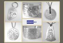 Joyas personalizadas con el dibujo de tu hijo / Reproducimos los dibujos de tus hijos en una joya de plata de ley.