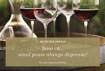 Secretele vinului / Și vinul are secretele lui, pe care te invităm să le descoperi aici - de la curiozități, fapte diverse, până la lucruri utile de știut, despre băutura cea mai nobilă.
