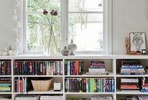 Organize your books / Idei pentru biblioteca de acasă