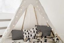 Kids Playrooms / Play spaces and play rooms ideas for kids.