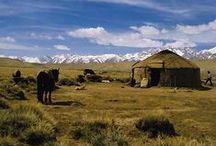 Namioty, jurtki... / Yurts, tents