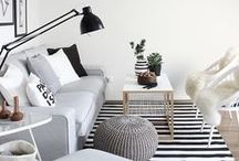 interiors / stunning and inspirational images of beautiful spaces to help with decorating your house / room.