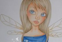 My colourings / Copic and pencil colourings