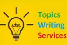 Topic Writing Services