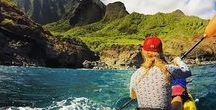 Women Sea Kayaking