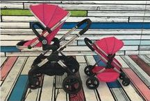 The iCandy MiPeach (Toy Pram) / The iCandy MiPeach is the toy version of our definitive Peach pushchair.  Available is a Royal (Blue) & Bubblegum (Pink).  / by iCandy World