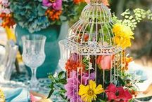 Colourful Bride / Ideas and Inspiration for a bride who wants to fill her Wedding with colour.