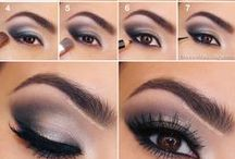 Easy Eye Makeup Tutorials / There's always an occasion for a professional eye makeup tutorial. Whether it is for a special occasion, a date, or even for everyday look every woman of any age wants to look her best!  Follow these eye makeup tutorials and tips from professional make-up artists and you can make yourself beautiful.