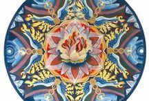 Mijn Ei-tempera schilderijen / Hier zie je enkele van mijn Ei-tempera schilderijen. Ik vervaardig ze op verzoek.