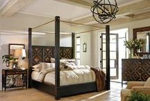 Beautiful Beds - Master Bedroom Decorating Ideas / Anchor your Master Bedroom Suite with a Dramatic Bed and beautiful bedding