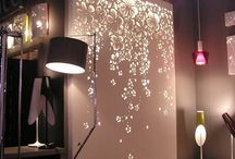 Delightful Design / Inspiration using decorative designs for ways one might use our custom SayWhat? Stencils.