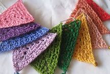 Haken driehoeken / crochet triangles