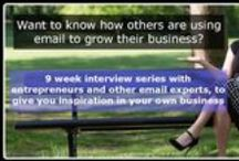 9 Week Interview Series / How Entrepreneurs Are Using eMarketing - 2014