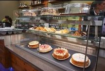 Refrigerated Design / Chilled service counter for cakes, pastries, cold meats, salads, pastas, ice cream .......