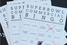 Super Bowl Party Ideas / All things Supper Bowl. Food, decorations, games, football team ideas, snacks, and many creative ideas.
