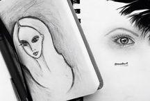 my ART ♠️ / Рисовать нужно не переставая. Рисуй глазами, когда не можешь карандашом. - Жан Огюст Доминик Энгр
