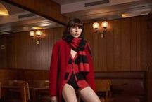 Sonia by Sonia Rykiel Fall Winter 2015 Collection / Presenting Sonia by Sonia Rykiel Fall Winter 2015 Collection with Langley Fox, photographed by Sonia Sieff.