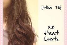 Fryzury / jak zrobić rózne fryzury