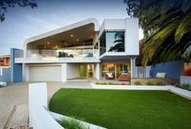 SHELLEY PROJECT / Premier One Constructions called on Outside In to assist their client with the external design of this amazing contemporary Perth property. Design by Outside In.