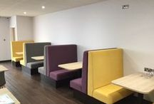 Thomas Cook / A sneak peek at our recent (Summer 2015) design and install project for Thomas Cook in Manchester