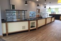 Knights Garden Centre, Chelsham - Restaurant Refurb / Tasked with the job of transforming Knight's Restaurant facility we provided them with an efficient kitchen and innovative servery system